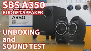 Creative SBS A350 - Unboxing and Sound Test [Best Deals TV]