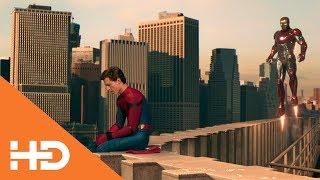 Тони Старк забирает костюм у Питера ★ Человек-паук: Возвращение домой (2017)