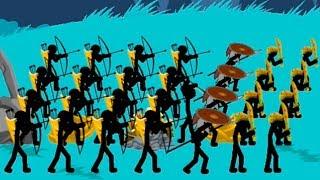 Stick War Legacy Атака стикменов Куча зомби наступают! Стикмен зомби \ стикмен атака