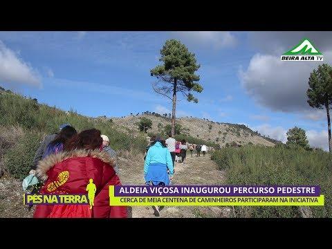 Aldeia Viçosa inaugurou Percurso Pedestre - Pequena Rota 1