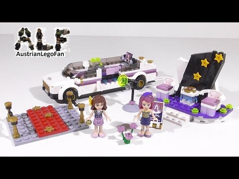 lego-friends-41107-pop-star-limo---lego-speed-build-review