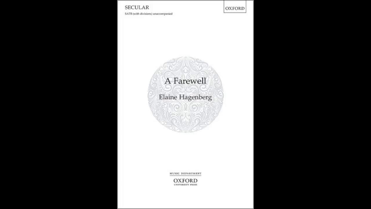 """A Farewell"" by Elaine Hagenberg"