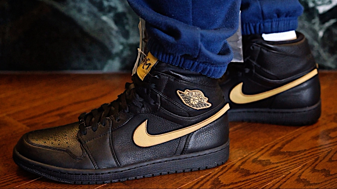 f44e732f65be AIR JORDAN 1 RETRO HIGH BHM Black History Movement Sneaker Preview and  Review