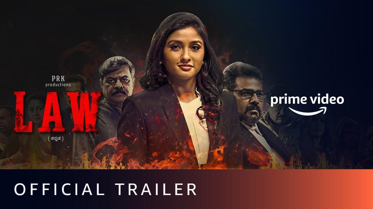 LAW - Official Trailer | Ragini Prajwal | Amazon Prime Video | July 17