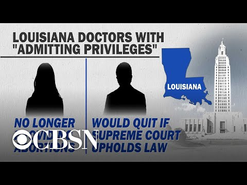 Louisiana could become first state with no access to abortion