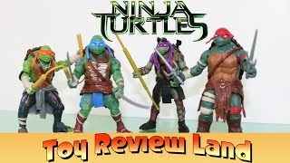 New Ninja Turtles Action Figures from the Ninja Turtles Movie Part 1 Unboxing