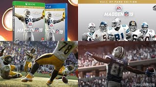Madden 19 Info!!! | T.O. Hall Of Fame Edition, New Running Features, MUT Pre Order Bonus & More