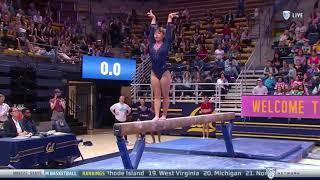 Katelyn Ohashi (UCLA) 2018 Beam vs Cal 9.95