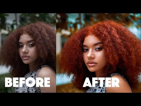 Easy Portrait Retouching Tutorial Using Frequency Separation and Dodge N Burn (Part 1) thumbnail