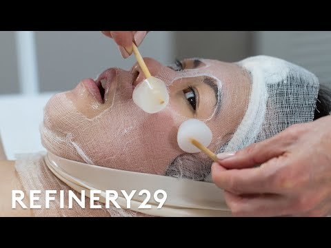 I Tried This Insane Bubble Facial | Beauty With Mi | Refinery29