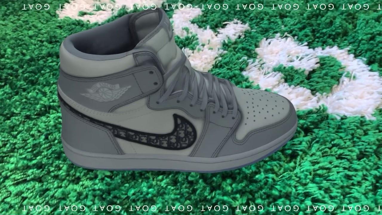 DIOR x Nike Air Jordan 1 [AR Camera