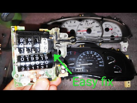 How to Fix Broken Odometer on 1995-2003 Ford Ranger/Explorer, Mazda B-Series, Best Fix diy.