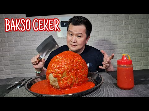 GILA !! BAKSO CEKER SETAN PEDAS LEVEL MAMPUS,,TERBERINGAS !!