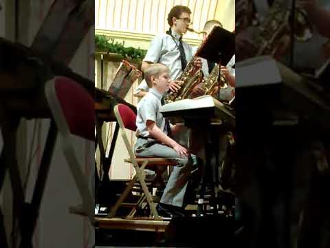 La Salle Middle School Band Christmas Concert 2013 part 1
