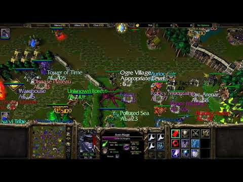 HM RPG 7.15i Anti-Mage Fast Solo Walkthrough Till 250 Lvl. Part 1