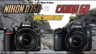 Nikon D750 vs Canon 6D Epic Shootout Review | Which Camera to Buy | Training Tutorial(What are the main performance differences between a Nikon D750 and a Canon 6D? You will find out in this video! 0:00 - Intro 03:14 - Servo Sports Test 06:30 ..., 2015-03-02T02:50:06.000Z)