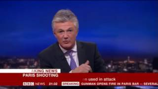 BBC Breaking News - 13/11/15 Paris Terror Attacks part 2 (9.15pm to 1am)