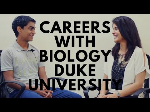 Biology Careers - College Experience Duke University #ChetChat
