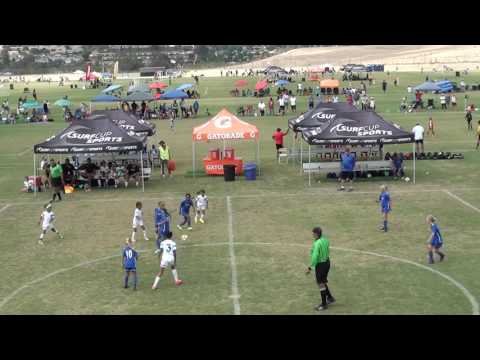 SURF SC HAWAII ROYAL 07G WHITFIELD vs EAGLES SC G07 GU10 SUPER BLACK