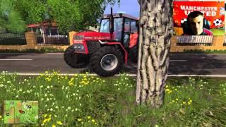 Farming Simulator 2015 #31 Prace polowe  / HUBI☆ d^_^b