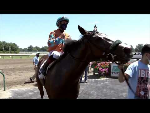 video thumbnail for MONMOUTH PARK 08-01-20 RACE 1