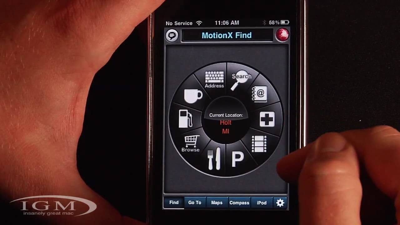 MotionX GPS Drive - $3 Turn-by-Turn GPS Navigation App for iPhone 3G/3GS  (Review)