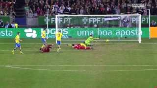 Cristiano Ronaldo Vs Sweden Home (English Commentary) - 13-14 HD 720p By CrixRonnie