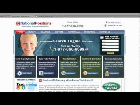 Internet Marketing 3.0 - National Positions