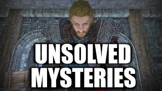 Skyrim - 5 Unsolved Mysteries