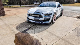 1,100+ Horsepower GT350 Makes 20lbs of Boost and this happens...