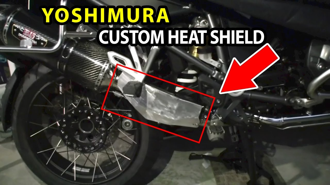 Ktm  Exhaust Heat Shield