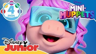 Mini-Muppets | Musikmedley med Mini-Muppets 🎵- Disney Junior Danmark