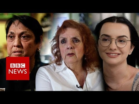 Do Trump voters have regrets a year on?  - BBC News