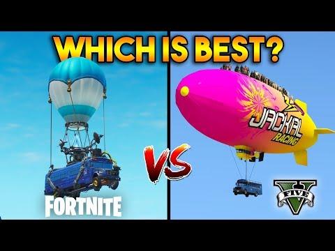 GTA 5 VS FORTNITE : WHICH IS BEST?