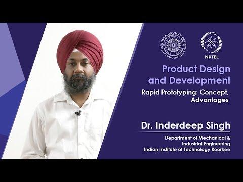 Lec 19 Rapid Prototyping: Concept, Advantages