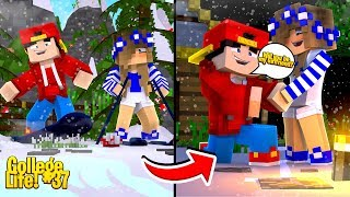 Minecraft College Life - ROPO ASKS LITTLE CARLY TO BE HIS GIRLFRIEND!!