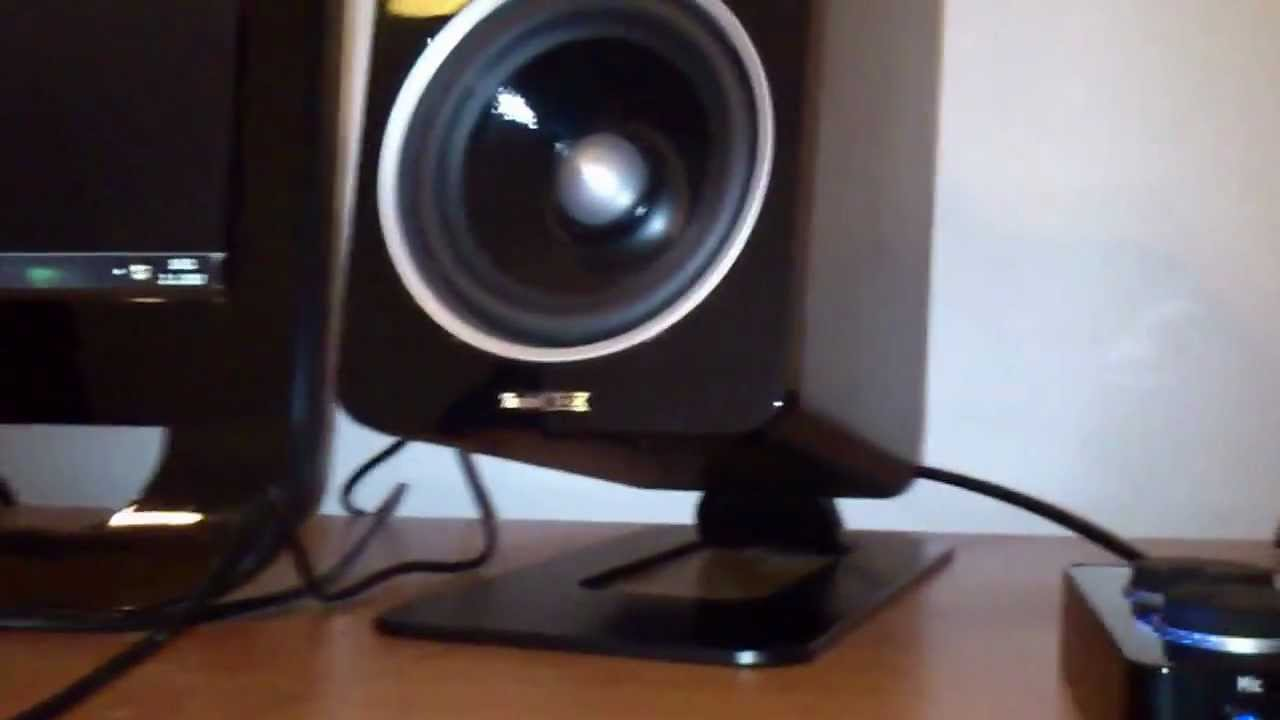 teufel concept d 500 thx 2 1 set youtube. Black Bedroom Furniture Sets. Home Design Ideas