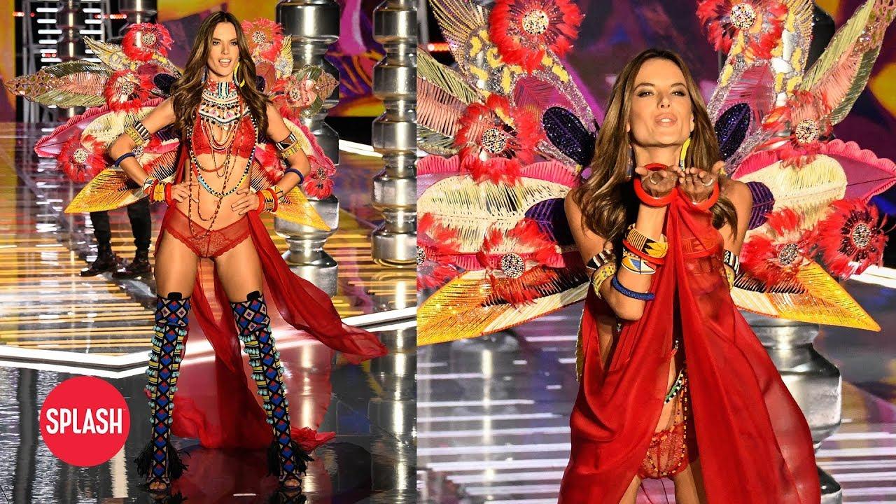 9c56a851dc Alessandra Ambrosio s Last Victoria s Secret Fashion Show