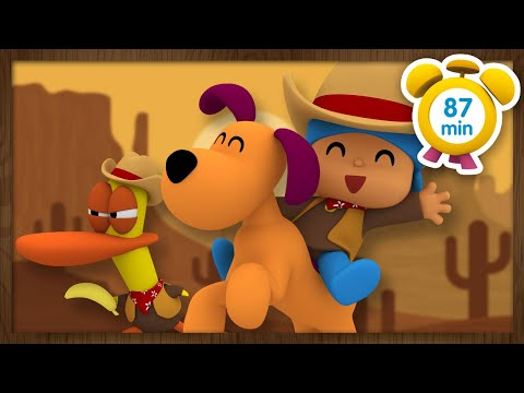 💰 POCOYO in ENGLISH - Cowboy Pocoyo [ 87 minutes ]   Full Episodes   VIDEOS and CARTOONS for KIDS