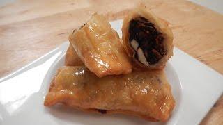 Chocolate And Nut Rolls | Chocolate Recipe | Sanjeev Kapoor Khazana
