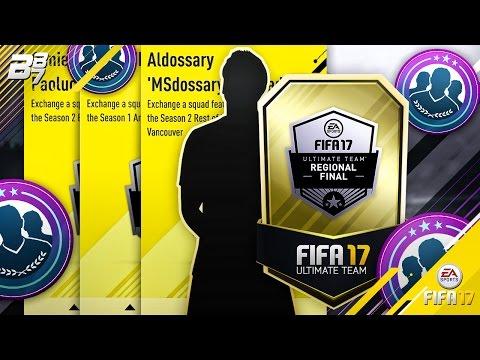 FUT CHAMPIONSHIP SERIES SQUAD BUILDING CHALLENGES! TOTS WALKOUT! | FIFA 17