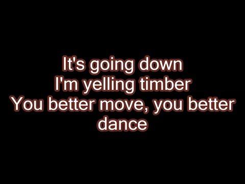 Pitbull - Timber ft. Ke$ha (Lyrics)