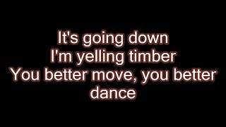 Download Pitbull - Timber ft. Ke$ha (Lyrics) MP3 song and Music Video