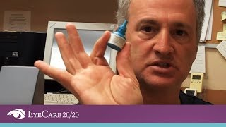EyeCare 20/20: How to Apply Eye Drops - The Best Method for Putting Eye Drops