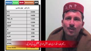 Pakistani Elections 2013 and ANP USA Reaction
