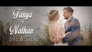 TANYA + NATHAN | Wedding Film - Donington Park Farmhouse Hotel (Derbyshire)