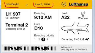 видео Как получить электронный билет на самолет