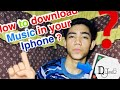 Paano mag-download ng music in Iphone?/DJV 00008