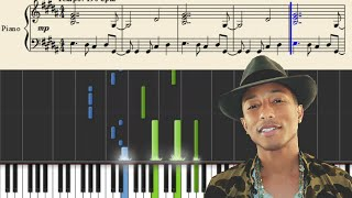 Download Pharrell Williams - Freedom - Piano Tutorial MP3 song and Music Video