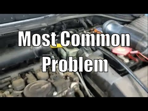 "VW Code P0171 P119A P0300 2.0l ""Most Common Problem"""